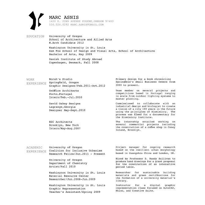 mla resume resume ideas